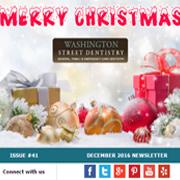Washington Street Dentistry - December 2016 Newsletter