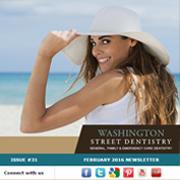 Washington Street Dentistry - February, 2016 Newsletter