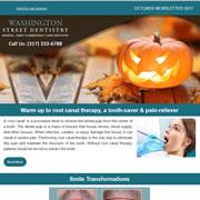 Washington Street Dentistry - October, 2017 Newsletter