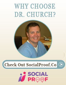 r. Matthew Church, Social Proof Profile widget