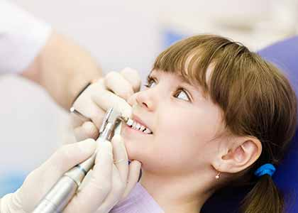 Pediatric Dentistry Clinic Indianapolis: Dr Church encourages parents to bring in their kids as soon as baby teeth begin to emerge.