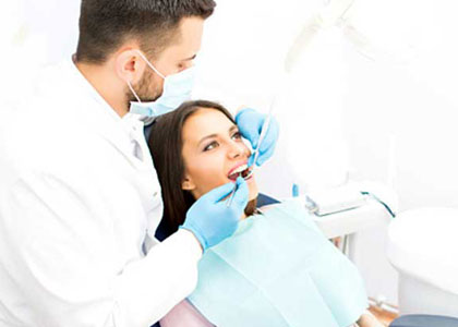 Dr. Matthew Church Providing Sedation Dentistry Oral Affordable Denture