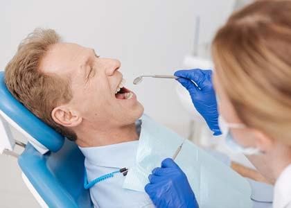 Dr. Matthew Church expain the causes gum disease, Washington Street Dentistry
