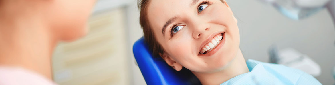 Patient smiling